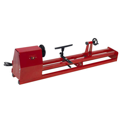 "Picture of 1/2 HP 4 Speed 40 Inch Wood Turning Lathe Machine 120v 14"" x 40"""