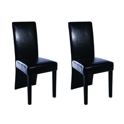 Picture of Kitchen Dining Chairs - Black