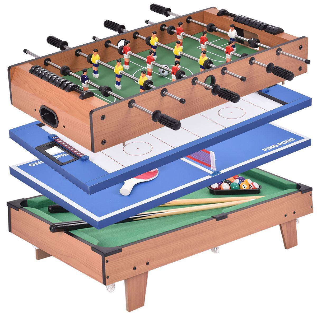 Picture of 4 In 1 Multi Game Table