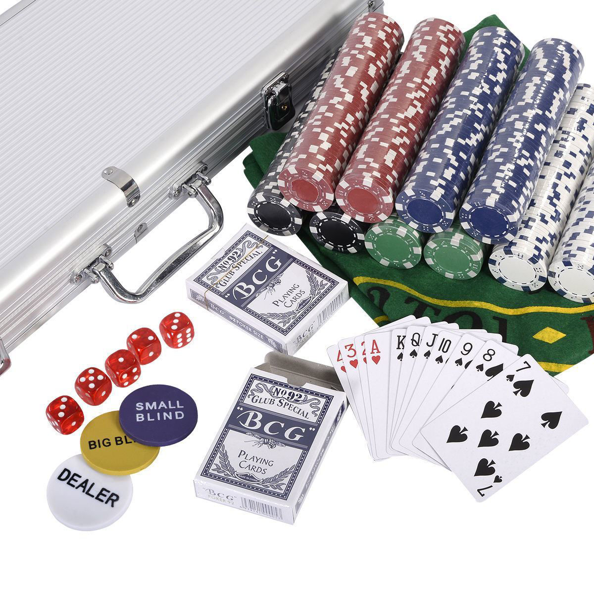Picture of Casino Poker Chips Set