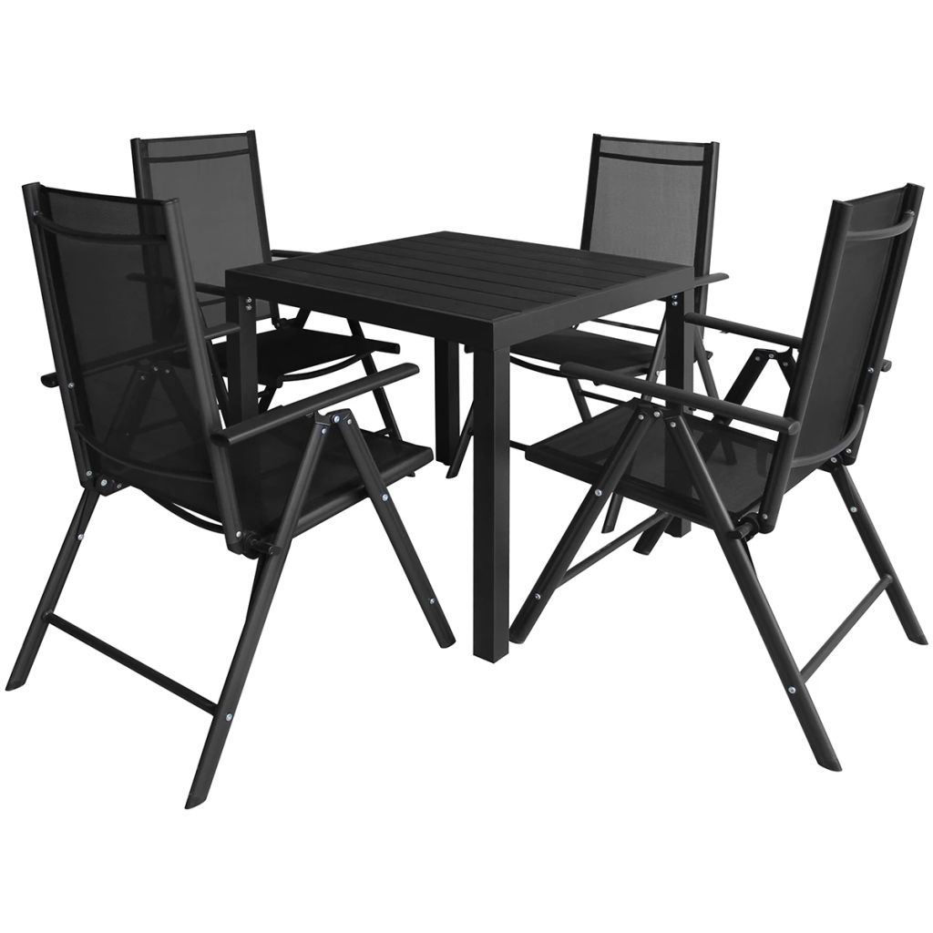 Picture of Outdoor Dining Set - Aluminum - 5pc WPC