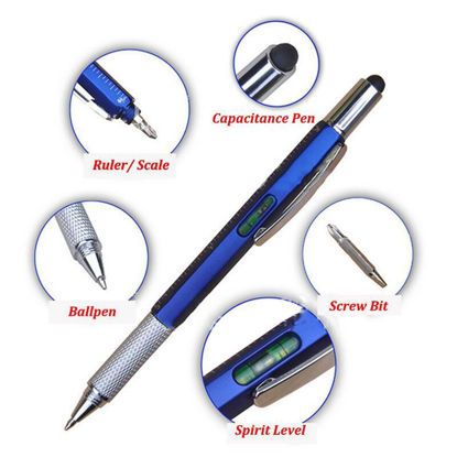 Picture of 6 in 1 Stylus Pen MultiTool