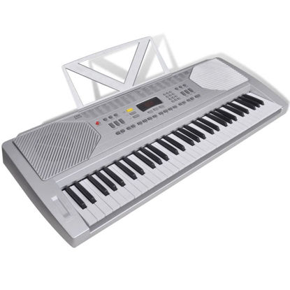 Picture of 61 Piano-key Electric Keyboard with Music Stand
