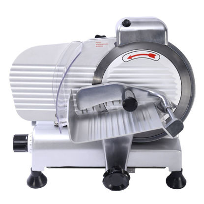 "Picture of 8"" Blade Meat Slicer Machine"