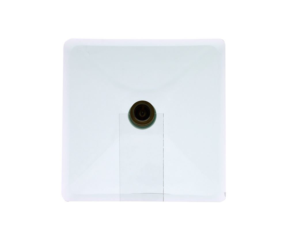 Picture of Bathroom Glass Sink Square-Shaped Vessel