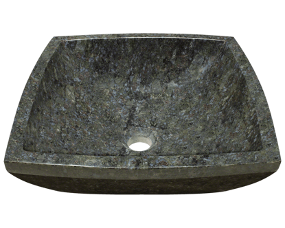 Picture of Bathroom Granite Vessel Sink - Butterfly Blue