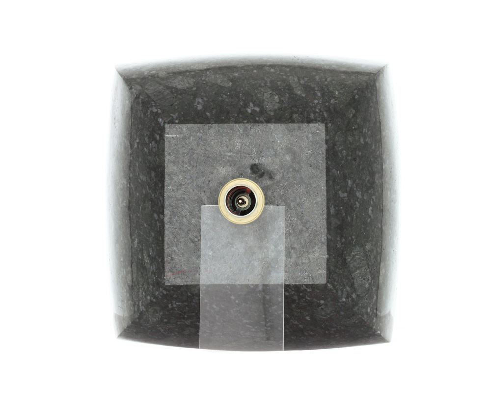 Picture of Bathroom Granite Vessel Sink - Butterfly Blue