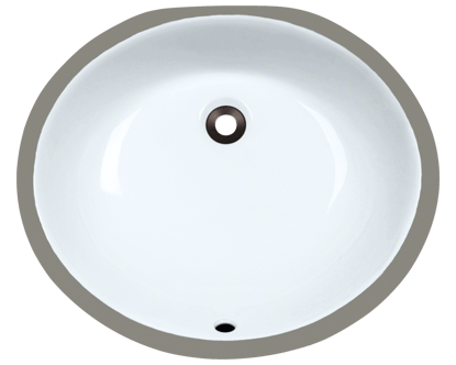 Picture of Bathroom Porcelain Undermount Sink