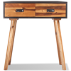 """Picture of Bedroom Console Table 27"""" - Solid Acacia Wood"""
