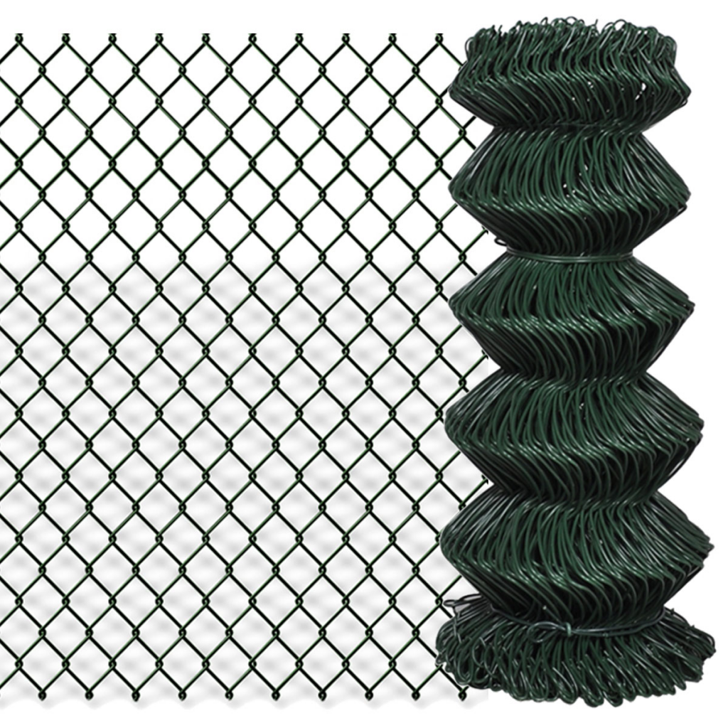 """Picture of Chain Fence 2' 7"""" x 82' Green"""