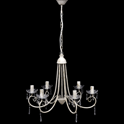 "Picture of Chandelier White 22""x18"""