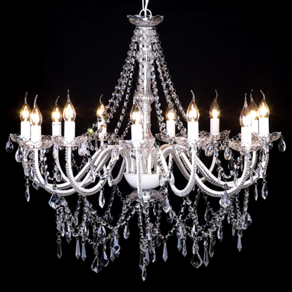 "Picture of Chandelier White 32""x30"""