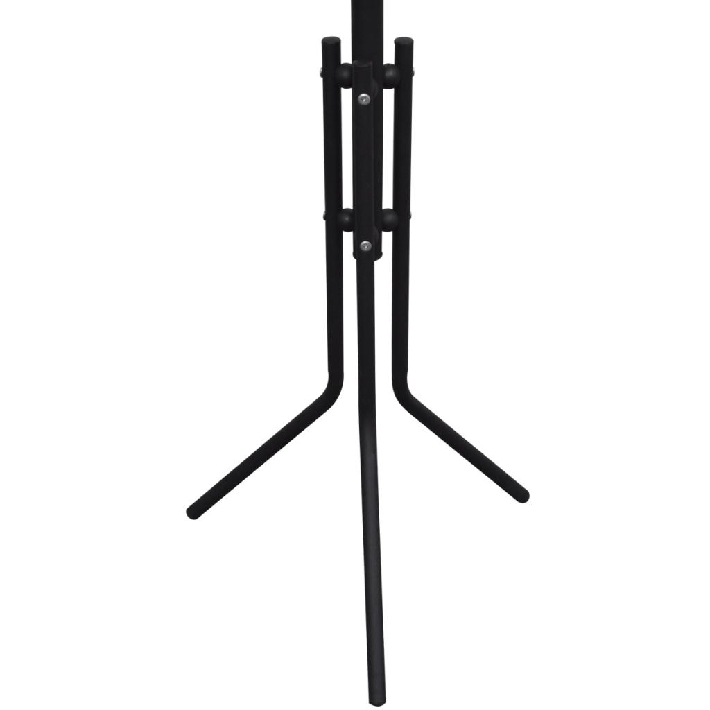 Picture of Coat Rack Hat Stand Organizer Hook Hanger - Metal Black