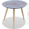 Picture of Coffee Table Side Table - Concrete Look Gray