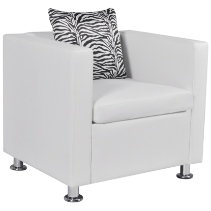 Picture of Living Room Chair - White