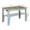 """Picture of Dining Table 45"""" - Reclaimed Wood"""