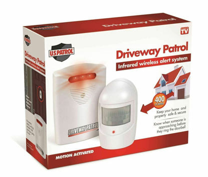 Picture of Driveway Patrol Wireless Home Security Alarm System - 400 Feet Range