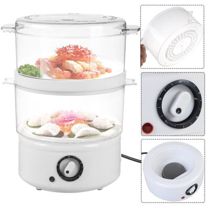 Picture of Electric Food Steamer Steaming Bowl