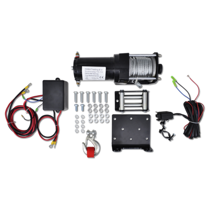 Picture of Electric Winch 3000 lb with Plate Roller Fairlead