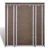 """Picture of Fabric Cabinet with Compartments 17"""" - Brown"""
