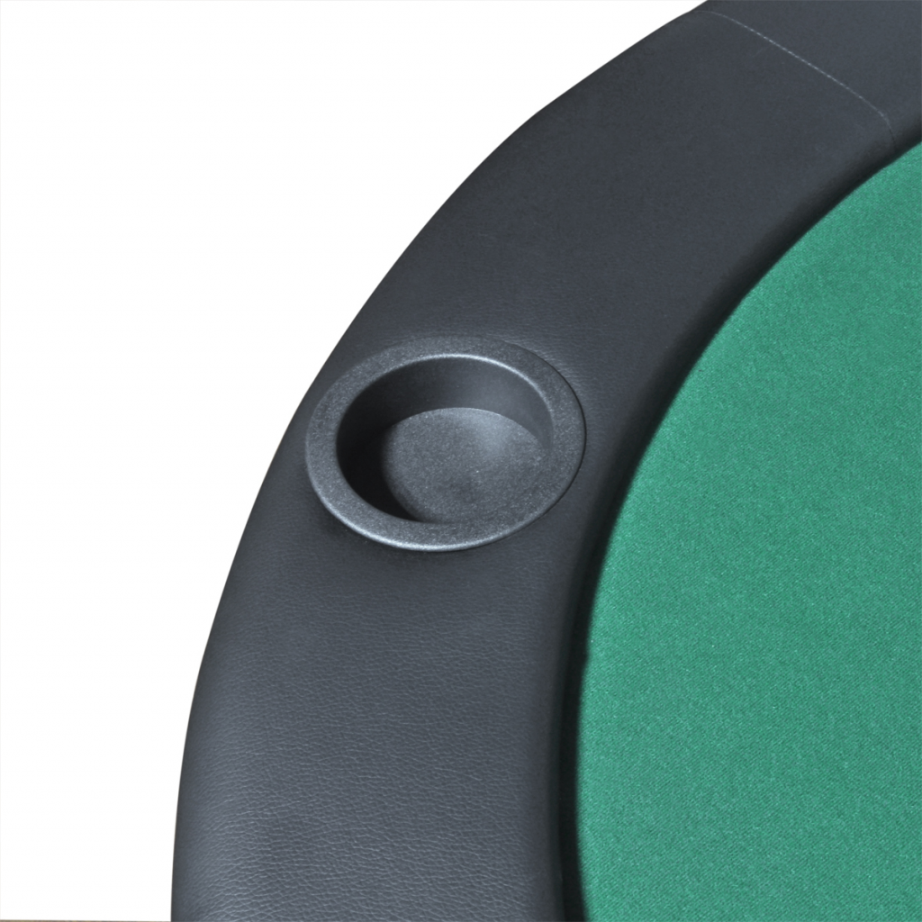 Picture of Foldable Poker Tabletop 10-Player - Green