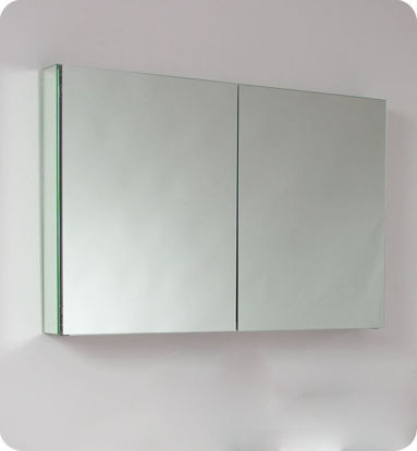 "Picture of Fresca 40"" Wide Bathroom Medicine Cabinet with Mirrors"