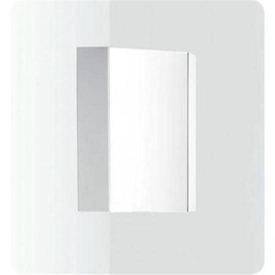 "Picture of Fresca Coda 14"" White Corner Medicine Cabinet w/ Mirror Door"