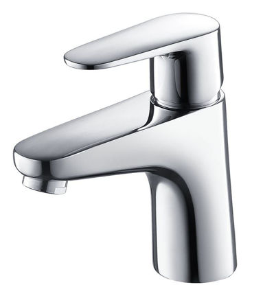 Picture of Fresca Diveria Single Hole Mount Bathroom Vanity Faucet - Chrome