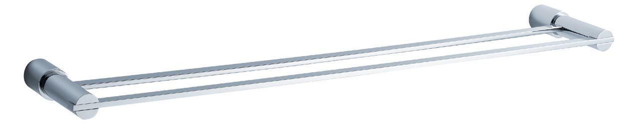 """Picture of Fresca Magnifico 25"""" Double Towel Bar - Chrome"""