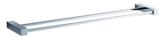 "Picture of Fresca Ottimo 25"" Double Towel Bar - Chrome"