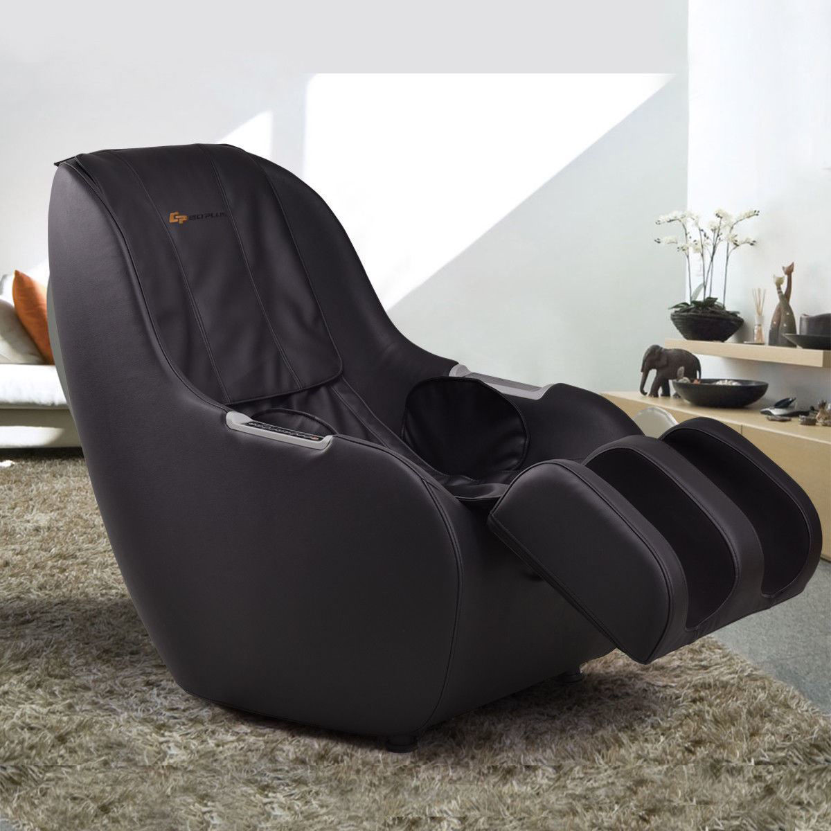 Picture of Full Body Massage Chair 3D Electric - Black