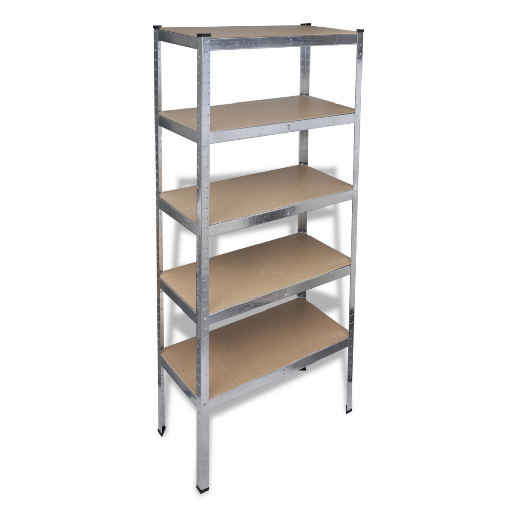 Picture of Garage Adjustable Storage Organizer Storage 5-Tier Shelf