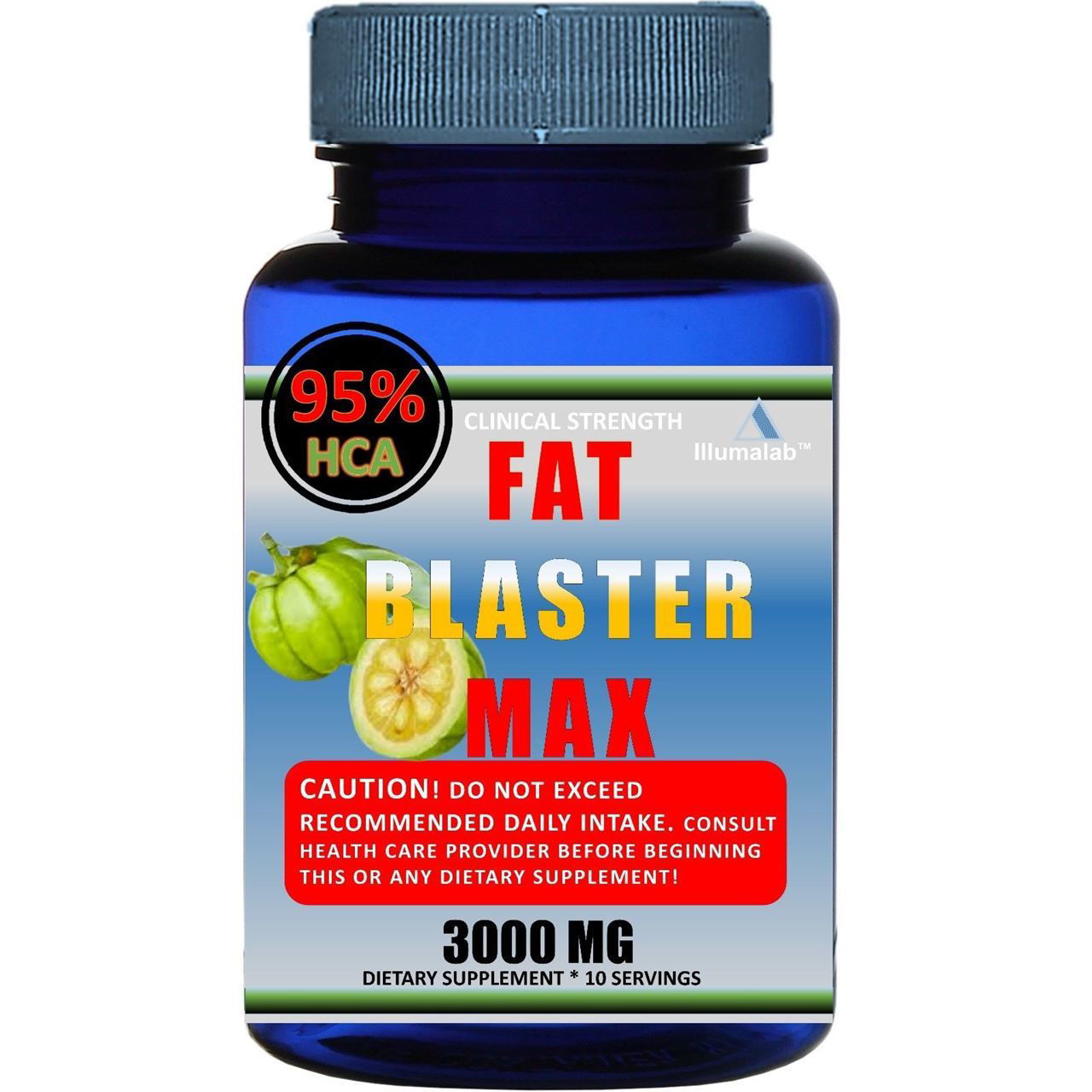 Picture of Garcinia Cambogia 95% HCA Diet Weight Loss Fat Burner - 3,000mg