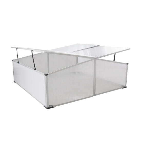 Picture of Garden Greenhouse Polycarbonate Cold Frame - 4 Lids