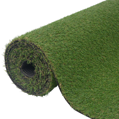 "Picture of Garden Lawn Artificial Grass 3.3'x26.2'/0.8""-1"" Green"