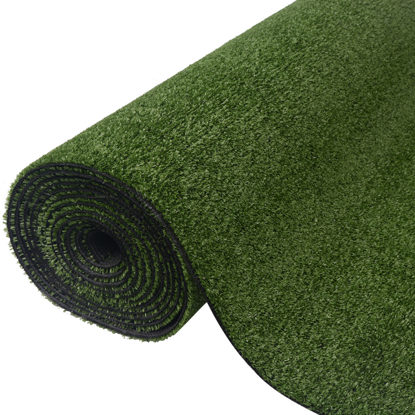 "Picture of Garden Lawn Artificial Grass 3.3'x49.2'/0.3""-0.4"" Green"