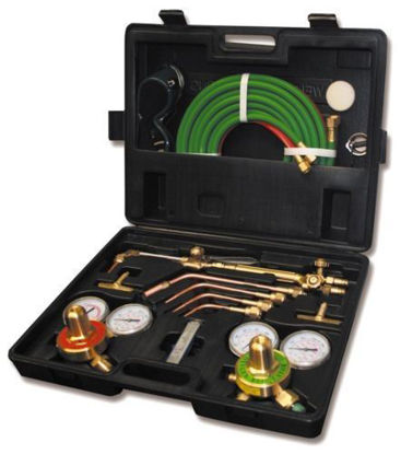Picture of Gas Welding Cutting Kit Oxy Acetylene Oxygen Torch Brazing Fits