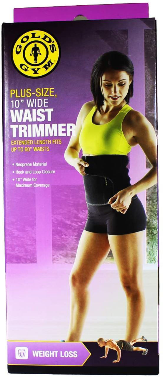 """Picture of Gold's Gym Waist Trimmer Belt - Plus Size 10"""""""