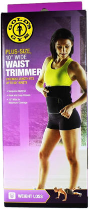Picture of Gold's Gym Waist Trimmer Belt - Plus Size 10""