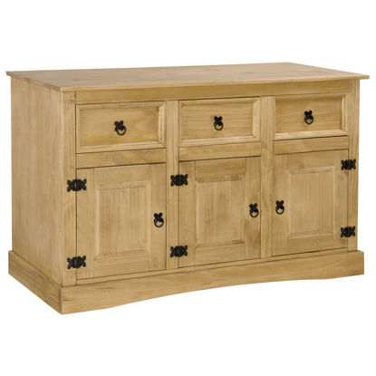 "Picture of Hallway Living Room Sideboard 52 "" - Solid Mexican Pinewood Corona Range"