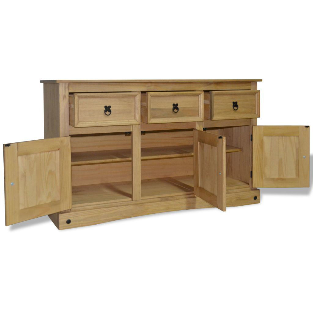 """Picture of Hallway Living Room Sideboard 52 """" - Solid Mexican Pinewood Corona Range"""