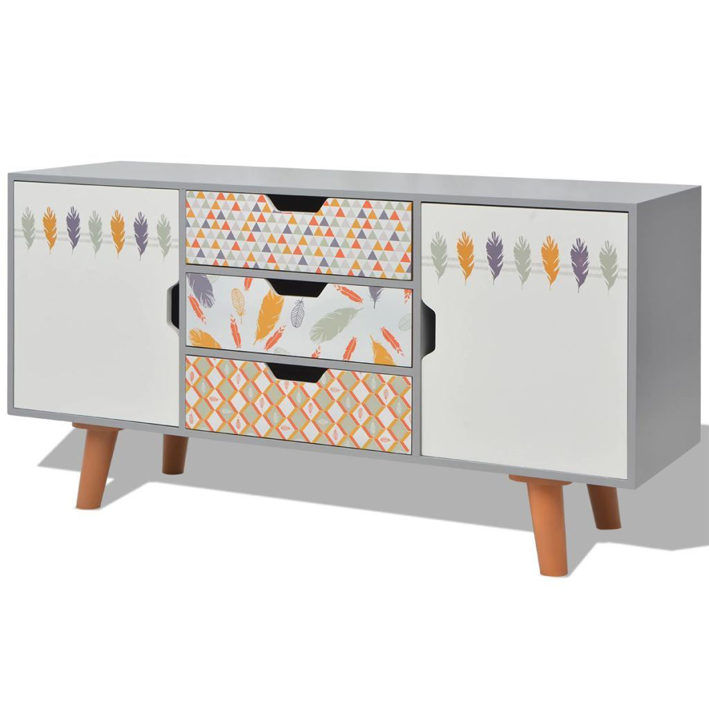 """Picture of Hallway Living Room Sideboard MDF 43"""" - Gray"""