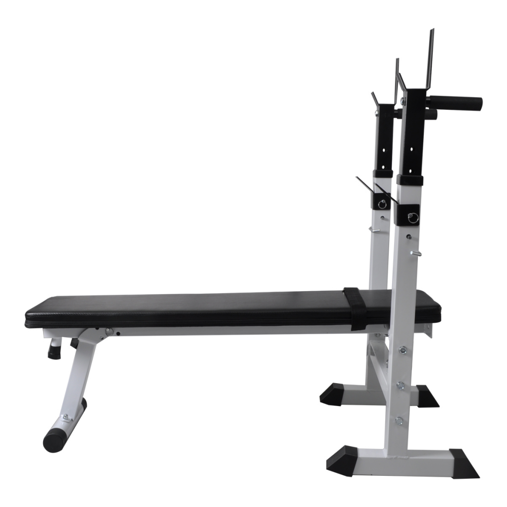 Picture of Home Gym Adjustable Fitness Workout Bench Straight Weight Bench