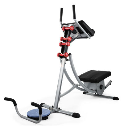 Picture of Home Gym Fitness AB Coaster with Dumbbells