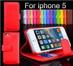 Picture of iPhone 5 Leather Case Cover