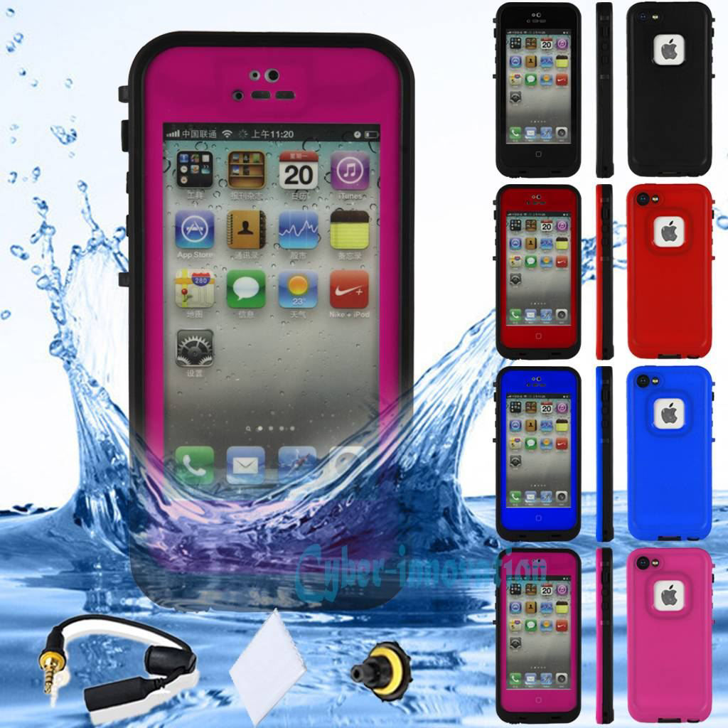 Picture of iPhone 5 or 4 or 4S  Waterproof Shockproof Dirt Proof Durable Case
