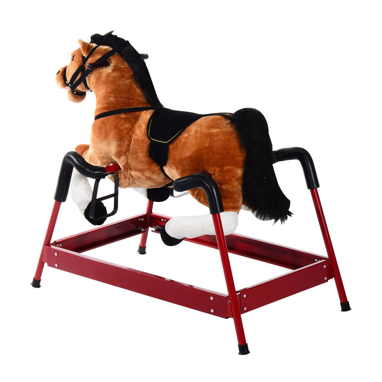 Picture of Kids Bouncing Rocker Horse Toy with Realistic Sound