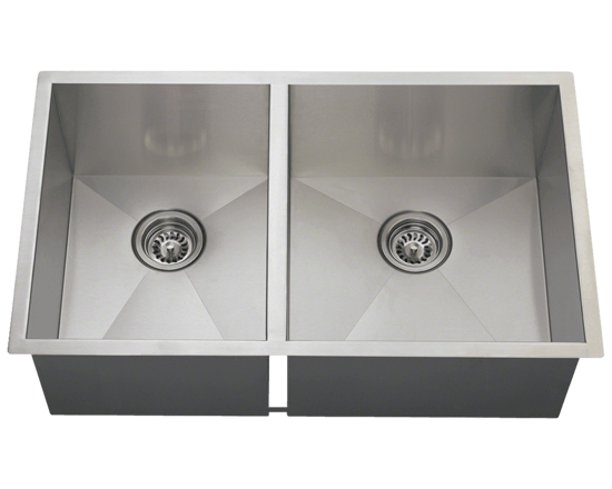 Picture of Kitchen Sink Double Rectangular Stainless Steel