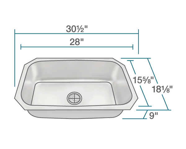 Picture of Kitchen Sink Stainless Steel