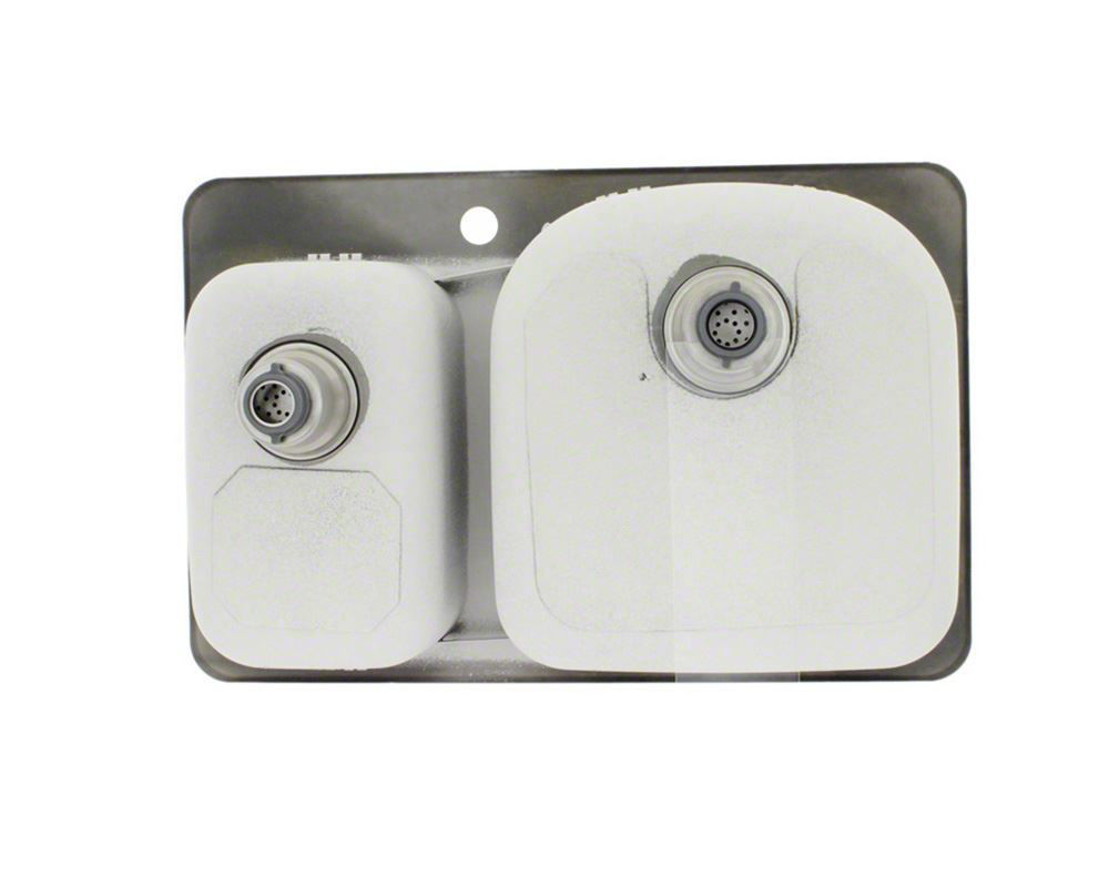 Picture of Kitchen Sink Stainless Steel Topmount Offset
